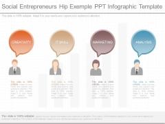 Social Entrepreneurs Hip Exemple Ppt Infographic Template