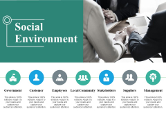 Social Environment Ppt PowerPoint Presentation Styles Sample