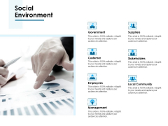 Social Environment Ppt PowerPoint Presentation Summary Outfit