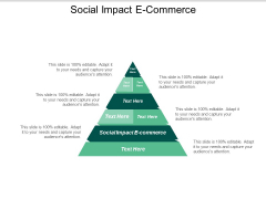 Social Impact E Commerce Ppt PowerPoint Presentation Infographics Example File Cpb