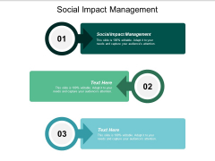Social Impact Management Ppt PowerPoint Presentation Infographics Format Ideas Cpb