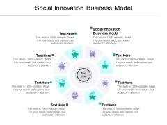 Social Innovation Business Model Ppt PowerPoint Presentation Portfolio Example Cpb