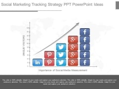Social Marketing Tracking Strategy Ppt Powerpoint Ideas
