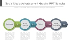 Social Media Advertisement Graphic Ppt Samples