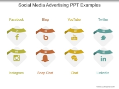 Social Media Advertising Ppt Examples