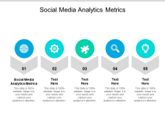 Social Media Analytics Metrics Ppt PowerPoint Presentation Layouts Graphic Images Cpb