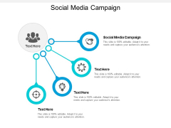 Social Media Campaign Ppt Powerpoint Presentation Portfolio Layout Cpb