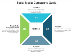 Social Media Campaigns Guide Ppt PowerPoint Presentation Infographic Template Cpb