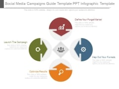 Social Media Campaigns Guide Template Ppt Infographic Template