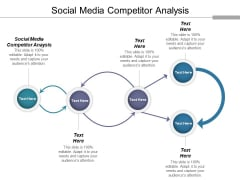 Social Media Competitor Analysis Ppt PowerPoint Presentation File Icons