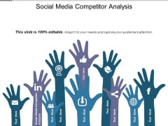 Social Media Competitor Analysis Ppt PowerPoint Presentation Professional Maker