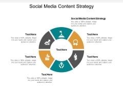 Social Media Content Strategy Ppt PowerPoint Presentation Infographic Template Sample Cpb