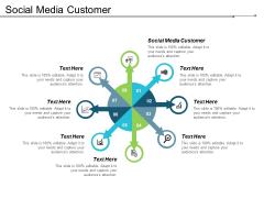 Social Media Customer Ppt Powerpoint Presentation Icon Tips Cpb