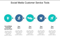 Social Media Customer Service Tools Ppt PowerPoint Presentation Slides Cpb
