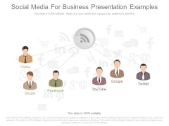 Social Media For Business Presentation Examples