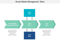 Social Media Management Team Ppt PowerPoint Presentation Pictures Layouts Cpb