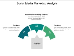 Social Media Marketing Analysis Ppt PowerPoint Presentation Show Outline Cpb
