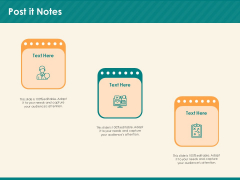 Social Media Marketing Budget Post It Notes Ppt Infographic Template Template PDF