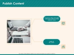 Social Media Marketing Budget Publish Content Ppt Icon Introduction PDF