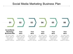 Social Media Marketing Business Plan Ppt PowerPoint Presentation Outline Graphics Cpb
