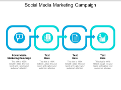 Social Media Marketing Campaign Ppt PowerPoint Presentation Infographic Template Ideas Cpb