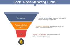 Social Media Marketing Funnel Ppt PowerPoint Presentation Portfolio Good