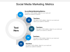 Social Media Marketing Metrics Ppt PowerPoint Presentation Gallery Aids Cpb