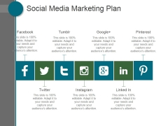 Social Media Marketing Plan Ppt PowerPoint Presentation Deck