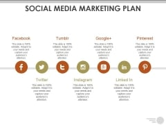 Social Media Marketing Plan Ppt PowerPoint Presentation Layouts Demonstration