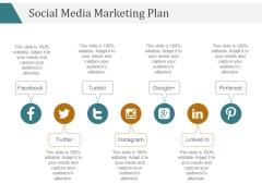 Social Media Marketing Plan Ppt PowerPoint Presentation Slides