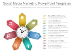 Social Media Marketing Powerpoint Templates
