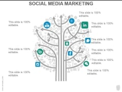 Social Media Marketing Ppt PowerPoint Presentation Diagrams
