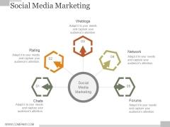 Social Media Marketing Ppt PowerPoint Presentation Show