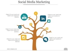 Social Media Marketing Ppt PowerPoint Presentation Templates