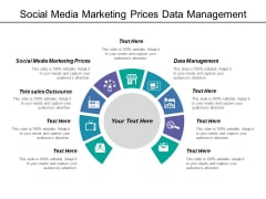Social Media Marketing Prices Data Management Tele Sales Outsource Ppt PowerPoint Presentation Infographic Template Background