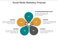 Social Media Marketing Proposal Ppt PowerPoint Presentation Ideas Deck Cpb