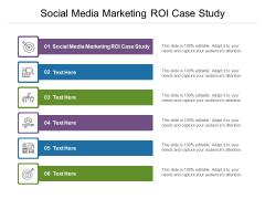 Social Media Marketing ROI Case Study Ppt PowerPoint Presentation Summary Mockup Cpb Pdf
