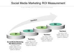 Social Media Marketing ROI Measurement Ppt PowerPoint Presentation Portfolio Aids Cpb Pdf
