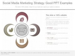 Social Media Marketing Strategy Good Ppt Examples