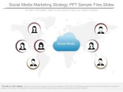 Social Media Marketing Strategy Ppt Sample Files Slides