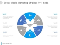 Social Media Marketing Strategy Ppt Slide