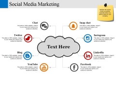 Social Media Marketing Template 1 Ppt PowerPoint Presentation Infographics Show