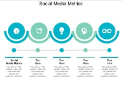 Social Media Metrics Ppt PowerPoint Presentation File Display Cpb
