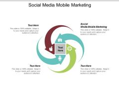 Social Media Mobile Marketing Ppt PowerPoint Presentation Professional Slide Portrait Cpb