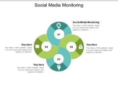 Social Media Monitoring Ppt PowerPoint Presentation Show Elements Cpb