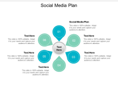 Social Media Plan Ppt PowerPoint Presentation Infographics Gallery Cpb