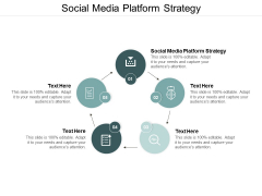 Social Media Platform Strategy Ppt PowerPoint Presentation Outline Icon Cpb
