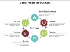 Social Media Recruitment Ppt PowerPoint Presentation Icon Aids Cpb