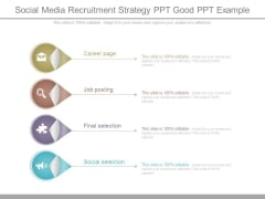 Social Media Recruitment Strategy Ppt Good Ppt Example