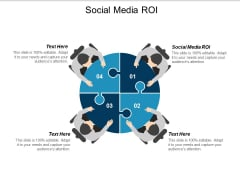 Social Media Roi Ppt PowerPoint Presentation Ideas Brochure Cpb